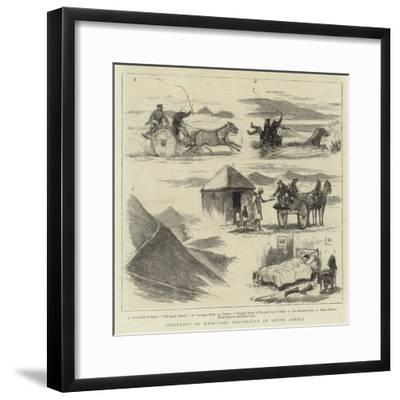 Incidents of Mail-Cart Travelling in South Africa--Framed Giclee Print