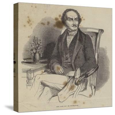 The Late Duc De Normandie--Stretched Canvas Print
