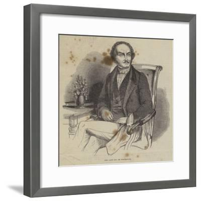 The Late Duc De Normandie--Framed Giclee Print