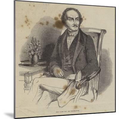 The Late Duc De Normandie--Mounted Giclee Print