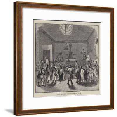 Bow Street Police Court, 1816--Framed Giclee Print