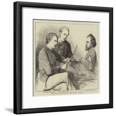 The New Associates of the Royal Academy--Framed Giclee Print