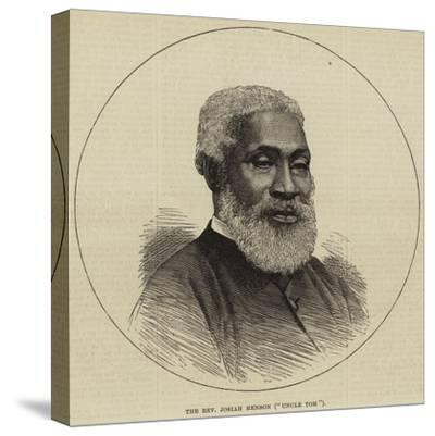 The Reverend Josiah Henson (Uncle Tom)--Stretched Canvas Print