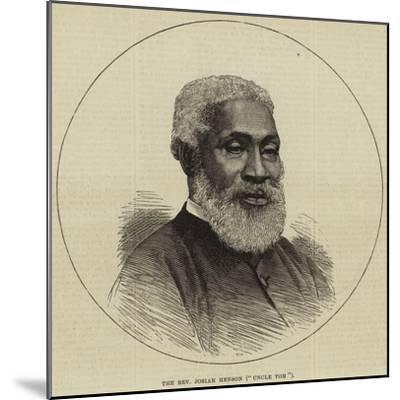 The Reverend Josiah Henson (Uncle Tom)--Mounted Giclee Print