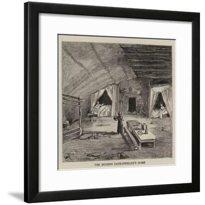 The Cave-Dwellers of the Vezere--Framed Giclee Print