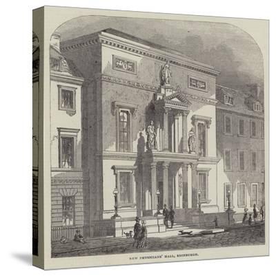 New Physicians' Hall, Edinburgh--Stretched Canvas Print