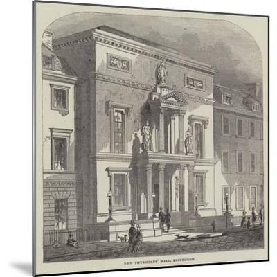 New Physicians' Hall, Edinburgh--Mounted Giclee Print