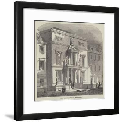 New Physicians' Hall, Edinburgh--Framed Giclee Print
