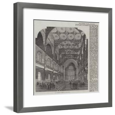 The Garrison Chapel at Woolwich--Framed Giclee Print