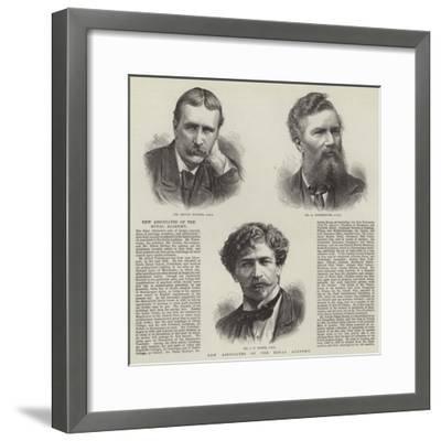 New Associates of the Royal Academy--Framed Giclee Print