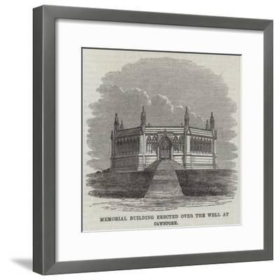 Memorial Building Erected over the Well at Cawnpore--Framed Giclee Print