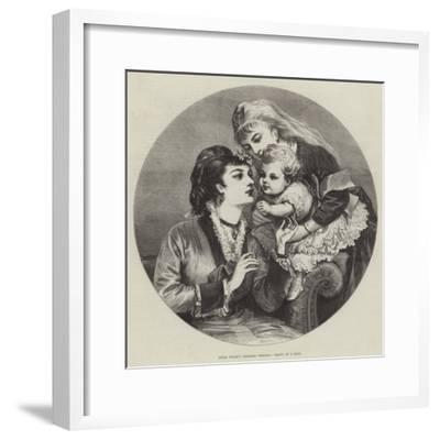 Little Willie's Christmas Greeting--Framed Giclee Print