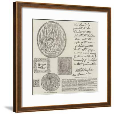 Seals of the Siamese Kingdom--Framed Giclee Print