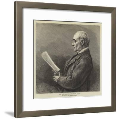 The Late Sir Francis Grant--Framed Giclee Print