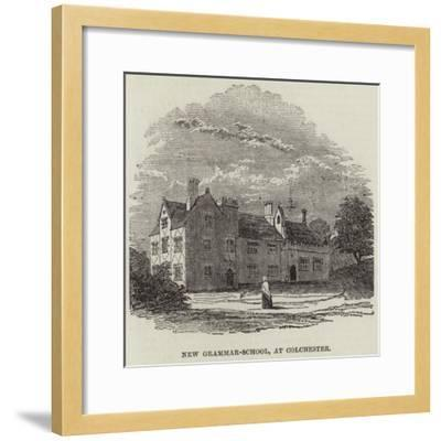 New Grammar-School, at Colchester--Framed Giclee Print