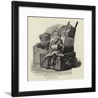 Studies of Life and Character at a Railway Station--Framed Giclee Print