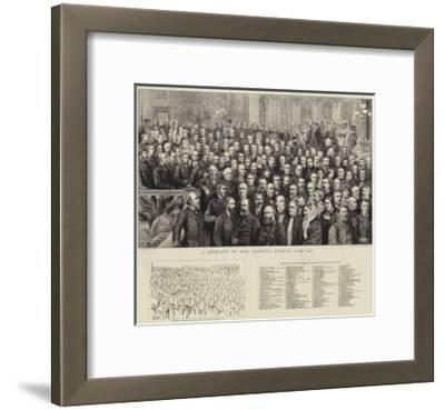 A Momento of Her Majesty's Jubilee Year, 1887--Framed Giclee Print