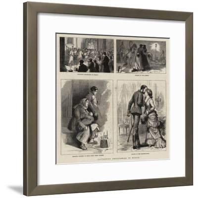 Eastertide Observances in Russia--Framed Giclee Print