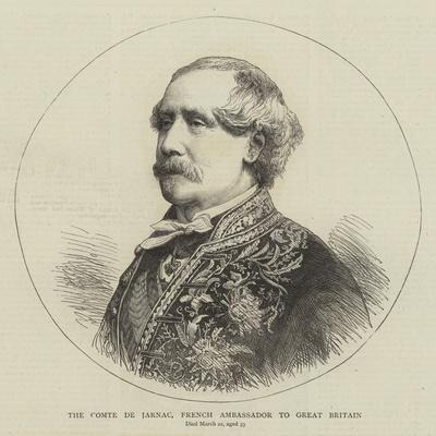 The Comte De Jarnac, French Ambassador to Great Britain--Framed Giclee Print