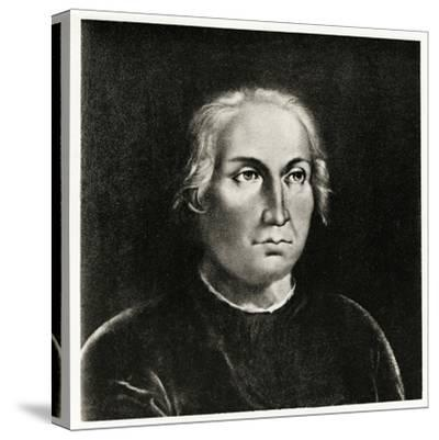 Christoph Columbus, 1884-90--Stretched Canvas Print