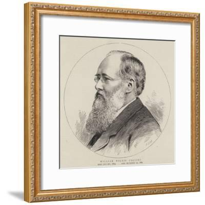 William Wilkie Collins--Framed Giclee Print