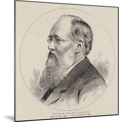William Wilkie Collins--Mounted Giclee Print