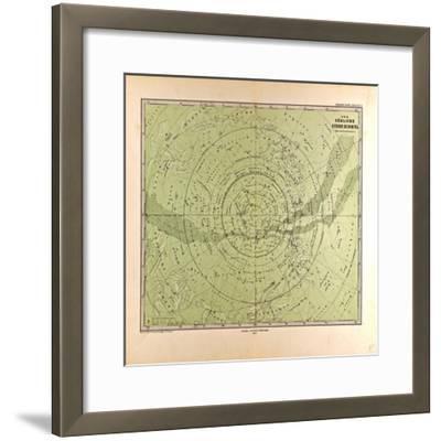 Southern Star Sky, 1872--Framed Giclee Print