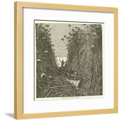 Discovery of Lake Nyassa--Framed Giclee Print