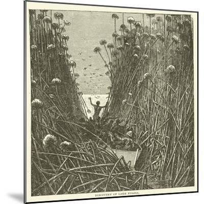 Discovery of Lake Nyassa--Mounted Giclee Print