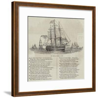 The Royal George Yacht--Framed Giclee Print