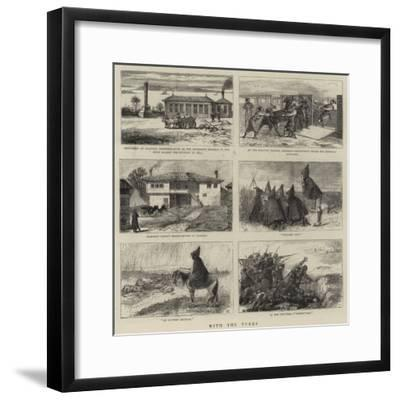 With the Turks--Framed Giclee Print