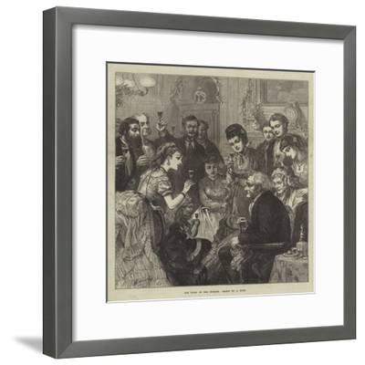 The Toast of the Evening--Framed Giclee Print