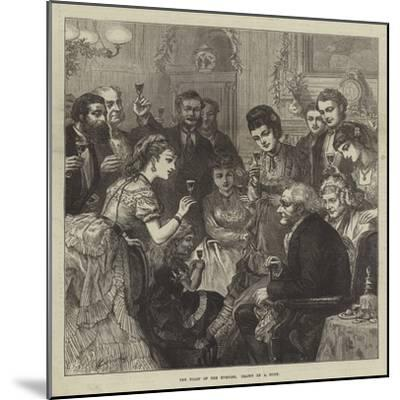 The Toast of the Evening--Mounted Giclee Print