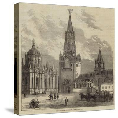 The Holy Gate, Moscow--Stretched Canvas Print