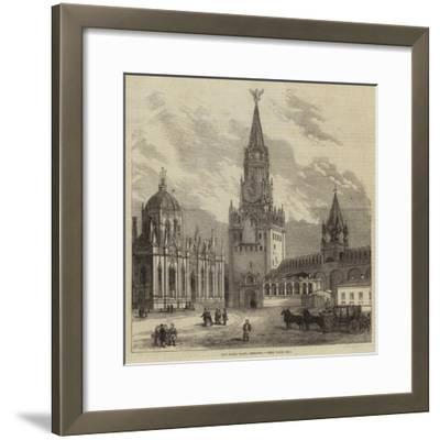 The Holy Gate, Moscow--Framed Giclee Print