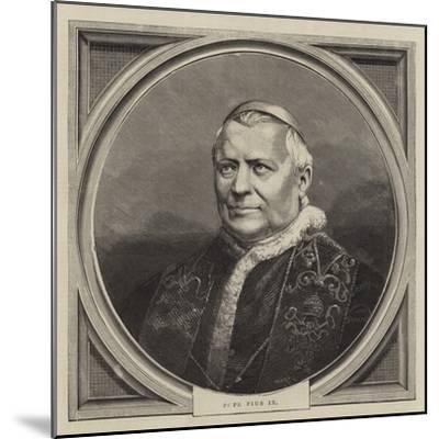 Pope Pius IX--Mounted Giclee Print