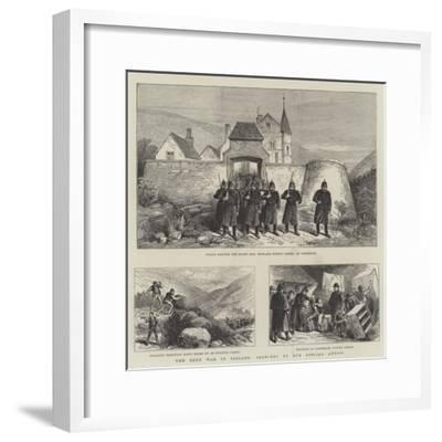 The Rent War in Ireland--Framed Giclee Print
