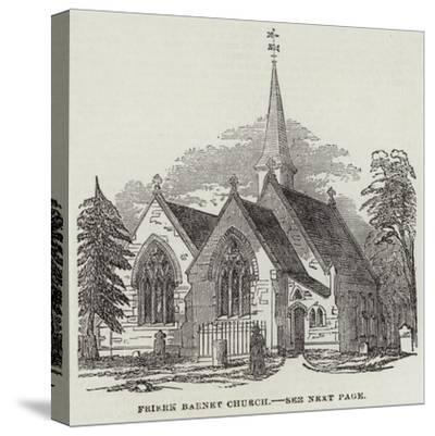 Friern Barnet Church--Stretched Canvas Print