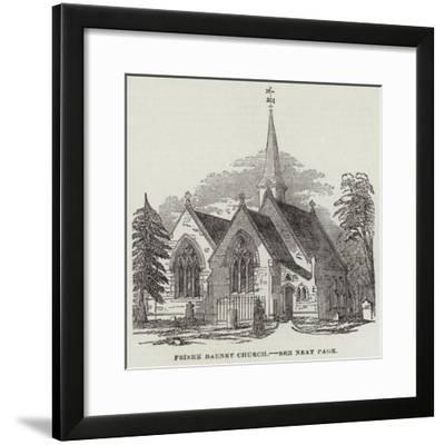 Friern Barnet Church--Framed Giclee Print