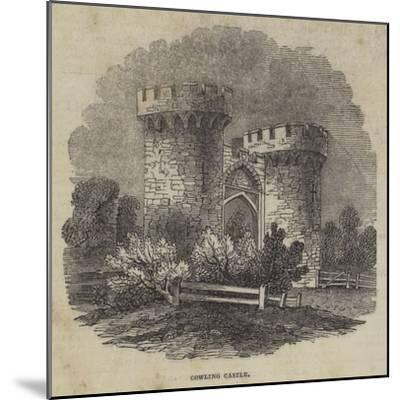 Cowling Castle--Mounted Giclee Print
