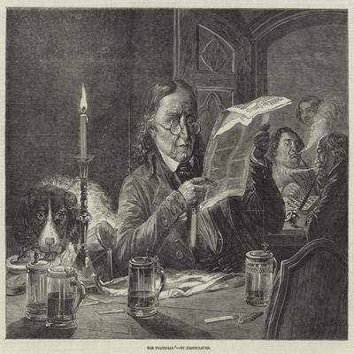 The Politician--Framed Giclee Print