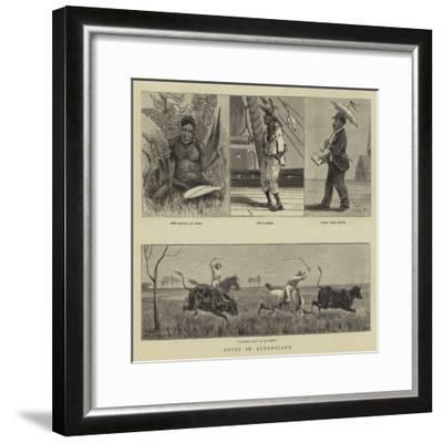 Notes in Queensland--Framed Giclee Print