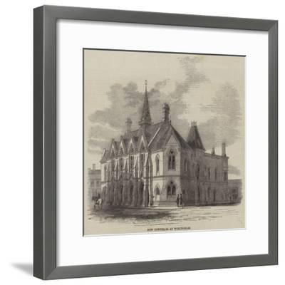 New Townhall at Wokingham--Framed Giclee Print