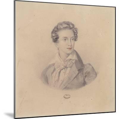 Portrait of Prince Fritz Baciocchi--Mounted Giclee Print