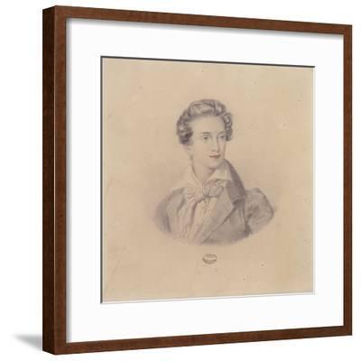 Portrait of Prince Fritz Baciocchi--Framed Giclee Print