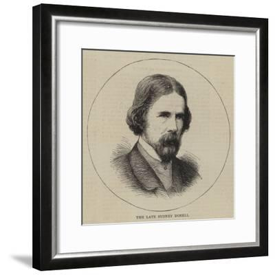 The Late Sydney Dobell--Framed Giclee Print