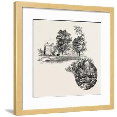 Featherstone Castle and Featherstone Bridge, UK--Framed Giclee Print