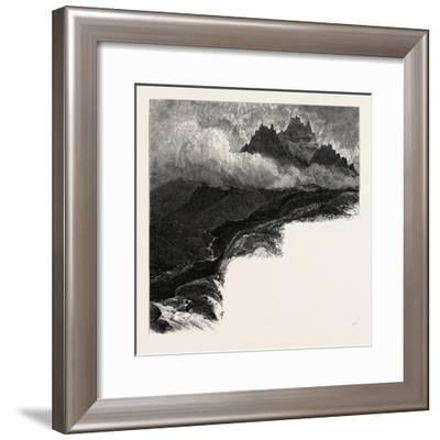 Macgillicuddy's Reeks, Ireland--Framed Giclee Print