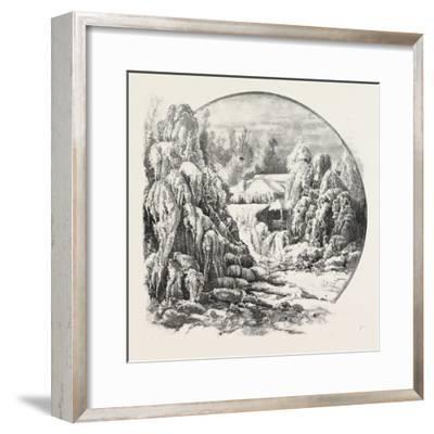 Ice Grove, Canada, Nineteenth Century--Framed Giclee Print