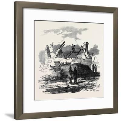 Cabin of Pat. Macnamara, Village of Clear--Framed Giclee Print